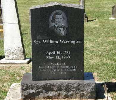 WARRINGTON, WILLIAM - Delaware County, Ohio | WILLIAM WARRINGTON - Ohio Gravestone Photos