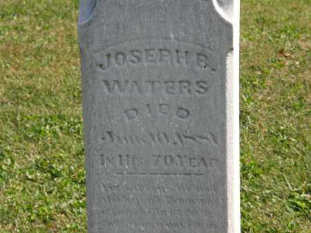 WATERS, JOSEPH E. - Delaware County, Ohio | JOSEPH E. WATERS - Ohio Gravestone Photos