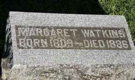 WATKINS, MARGARET - Delaware County, Ohio | MARGARET WATKINS - Ohio Gravestone Photos