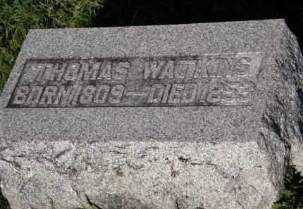 WATKINS, THOMAS - Delaware County, Ohio | THOMAS WATKINS - Ohio Gravestone Photos