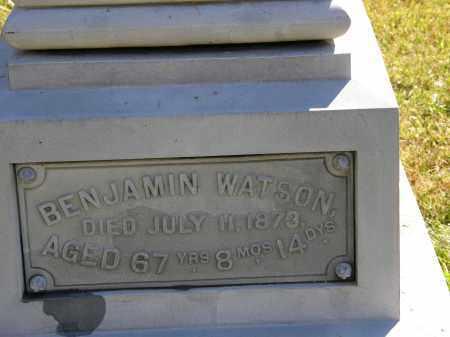 WATSON, BENJAMIN - Delaware County, Ohio | BENJAMIN WATSON - Ohio Gravestone Photos