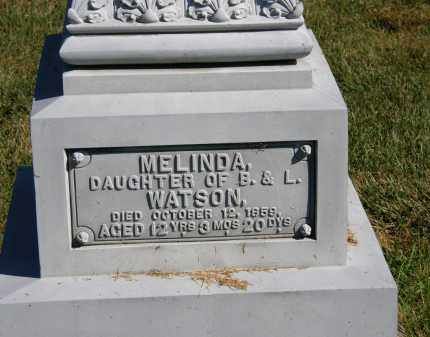 WATSON, B. - Delaware County, Ohio | B. WATSON - Ohio Gravestone Photos