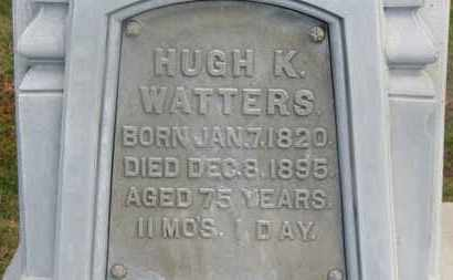 WATTERS, HUGH K. - Delaware County, Ohio | HUGH K. WATTERS - Ohio Gravestone Photos