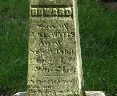 WATTS, HOWARD - Delaware County, Ohio | HOWARD WATTS - Ohio Gravestone Photos