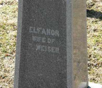 WEISER, ELEANOR - Delaware County, Ohio | ELEANOR WEISER - Ohio Gravestone Photos