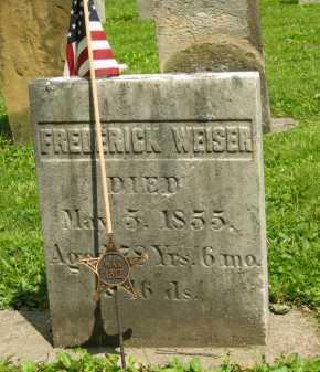 WEISER, FREDERICK - Delaware County, Ohio | FREDERICK WEISER - Ohio Gravestone Photos
