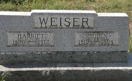 WEISER, REUBEN - Delaware County, Ohio | REUBEN WEISER - Ohio Gravestone Photos