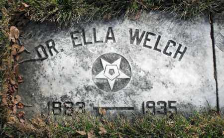 WELCH, ELLA - Delaware County, Ohio | ELLA WELCH - Ohio Gravestone Photos