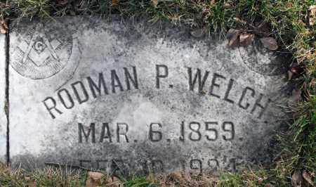 WELCH, RODMAN P. - Delaware County, Ohio | RODMAN P. WELCH - Ohio Gravestone Photos