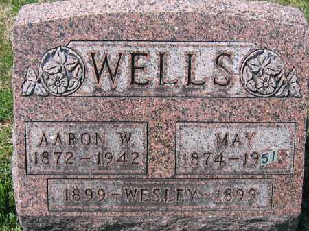 WELLS, WESLEY - Delaware County, Ohio | WESLEY WELLS - Ohio Gravestone Photos