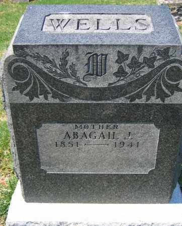 WELLS, ABAGAIL J. - Delaware County, Ohio | ABAGAIL J. WELLS - Ohio Gravestone Photos