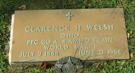 WELSH, CLARENCE H. - Delaware County, Ohio | CLARENCE H. WELSH - Ohio Gravestone Photos