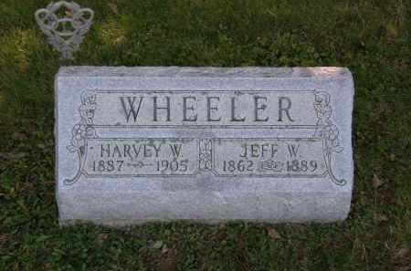 WHELLER, JEFF W. - Delaware County, Ohio | JEFF W. WHELLER - Ohio Gravestone Photos