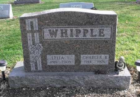 BENNETT WHIPPLE, LEITA LORRAINE - Delaware County, Ohio | LEITA LORRAINE BENNETT WHIPPLE - Ohio Gravestone Photos