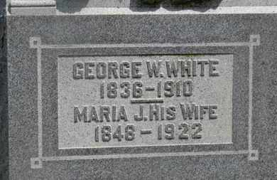 WHITE, GEORGE W. - Delaware County, Ohio | GEORGE W. WHITE - Ohio Gravestone Photos