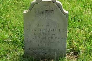 WHITE, MARTHA - Delaware County, Ohio | MARTHA WHITE - Ohio Gravestone Photos
