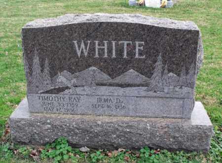 WHITE, TIMOTHY RAY - Delaware County, Ohio | TIMOTHY RAY WHITE - Ohio Gravestone Photos
