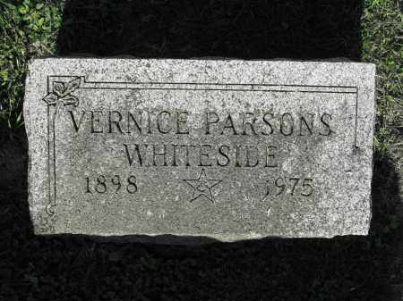 WHITESIDE, VERNICE PARSONS - Delaware County, Ohio | VERNICE PARSONS WHITESIDE - Ohio Gravestone Photos