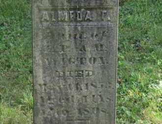 WIGTON, ALMEDA F. - Delaware County, Ohio | ALMEDA F. WIGTON - Ohio Gravestone Photos