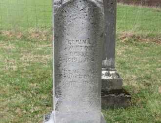 BESSE WIGTON, ELMINA - Delaware County, Ohio | ELMINA BESSE WIGTON - Ohio Gravestone Photos