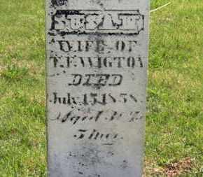 WIGTON, SUSAN - Delaware County, Ohio | SUSAN WIGTON - Ohio Gravestone Photos