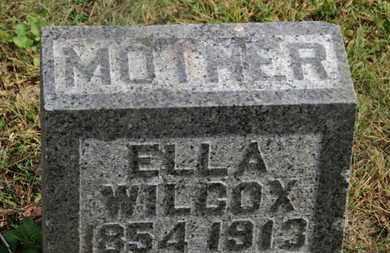 WILCOX, ELLA - Delaware County, Ohio | ELLA WILCOX - Ohio Gravestone Photos
