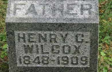 WILCOX, HENRY C. - Delaware County, Ohio | HENRY C. WILCOX - Ohio Gravestone Photos