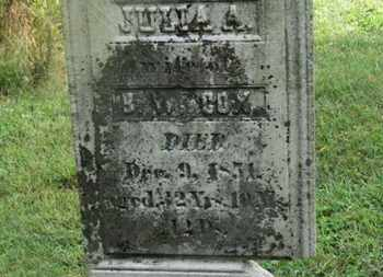 WILCOX, JULIA A. - Delaware County, Ohio | JULIA A. WILCOX - Ohio Gravestone Photos