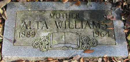 WILLIAMS, ALTA - Delaware County, Ohio | ALTA WILLIAMS - Ohio Gravestone Photos