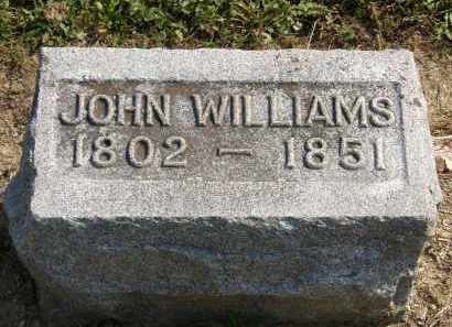 WILLIAMS, JOHN - Delaware County, Ohio | JOHN WILLIAMS - Ohio Gravestone Photos