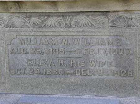 WILLIAMS, ELIZA R. - Delaware County, Ohio | ELIZA R. WILLIAMS - Ohio Gravestone Photos