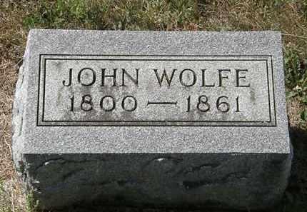 WOLFE, JOHN - Delaware County, Ohio | JOHN WOLFE - Ohio Gravestone Photos