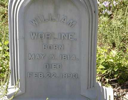 WORLINE, WILLIAM - Delaware County, Ohio | WILLIAM WORLINE - Ohio Gravestone Photos