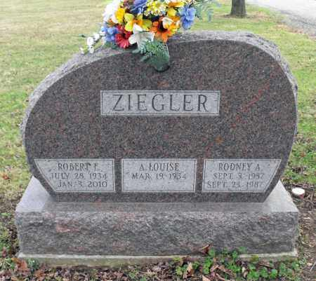 ZIEGLER, ROBERT E. - Delaware County, Ohio | ROBERT E. ZIEGLER - Ohio Gravestone Photos