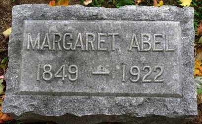 ABEL, MARGARET - Erie County, Ohio | MARGARET ABEL - Ohio Gravestone Photos