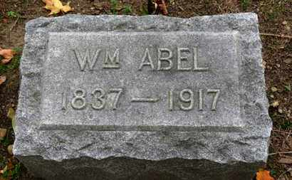 ABEL, WM. - Erie County, Ohio | WM. ABEL - Ohio Gravestone Photos