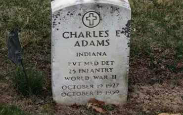 ADAMS, CHARLES E. - Erie County, Ohio | CHARLES E. ADAMS - Ohio Gravestone Photos