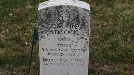 ADCOCK, CALVIN - Erie County, Ohio | CALVIN ADCOCK - Ohio Gravestone Photos