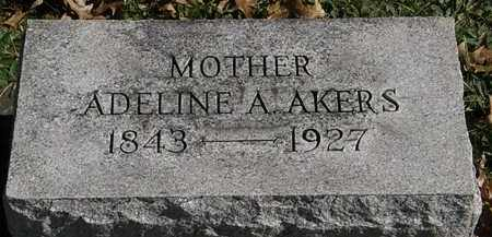 AKERS, ADELINE A. - Erie County, Ohio | ADELINE A. AKERS - Ohio Gravestone Photos