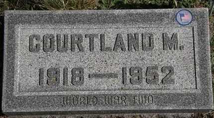 ALLGOOD, CORTLAND M. - Erie County, Ohio | CORTLAND M. ALLGOOD - Ohio Gravestone Photos