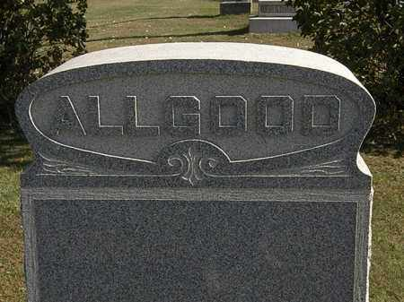 ALLGOOD, FAMILY MARKER - Erie County, Ohio   FAMILY MARKER ALLGOOD - Ohio Gravestone Photos