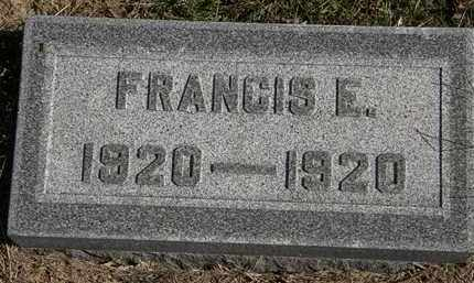 ALLGOOD, FRANCIS E. - Erie County, Ohio | FRANCIS E. ALLGOOD - Ohio Gravestone Photos