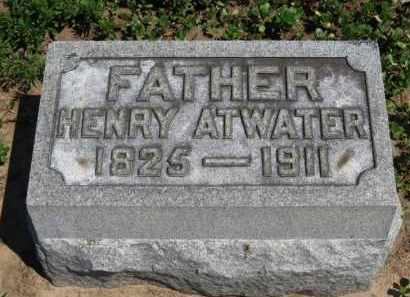 ATWATER, HENRY - Erie County, Ohio | HENRY ATWATER - Ohio Gravestone Photos