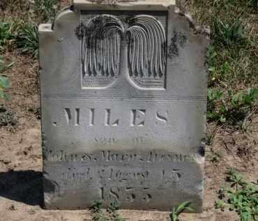 ATWATER, MILES - Erie County, Ohio | MILES ATWATER - Ohio Gravestone Photos