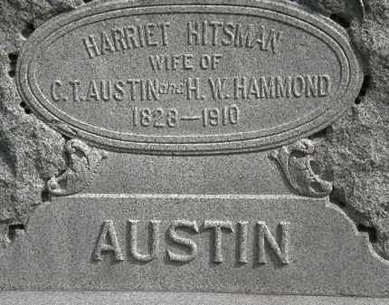 AUSTIN-HAMMOND, HARRIET - Erie County, Ohio | HARRIET AUSTIN-HAMMOND - Ohio Gravestone Photos