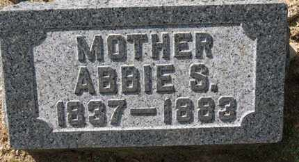 BACON, ABBIE S. - Erie County, Ohio | ABBIE S. BACON - Ohio Gravestone Photos