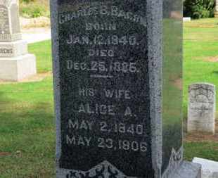 BACON, CHARLES B. - Erie County, Ohio | CHARLES B. BACON - Ohio Gravestone Photos