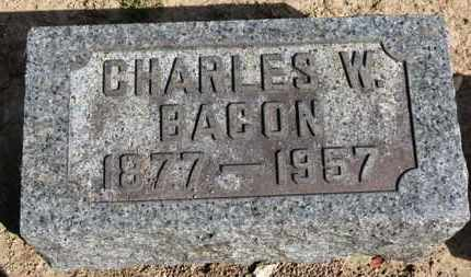 BACON, CHARLES W. - Erie County, Ohio | CHARLES W. BACON - Ohio Gravestone Photos