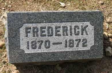 BACON, FREDERICK - Erie County, Ohio | FREDERICK BACON - Ohio Gravestone Photos