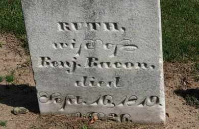 BACON, BENJ. - Erie County, Ohio | BENJ. BACON - Ohio Gravestone Photos
